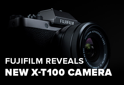 FUJIFILM REVEALS NEW X-T100 MIRRORLESS, 4K CAMERA - FILTERGRADE