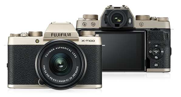 3 Fujifilm Reveals New X-T100 Mirrorless, 4k Camera - FilterGrade