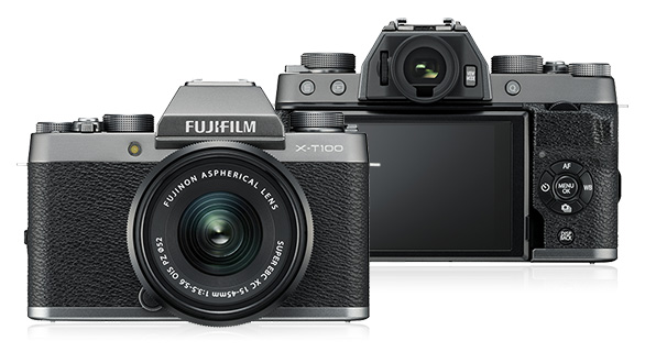 1 Fujifilm Reveals New X-T100 Mirrorless, 4k Camera - FilterGrade