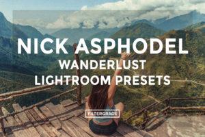 Nick Asphodel Wanderlust Lightroom Presets - FilterGrade