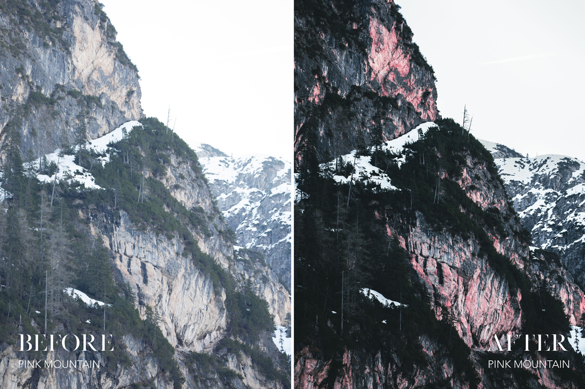 Pink Mountain - Joshua Fuller Lightroom Presets Vol. 4 - Dolomites - FilterGrade