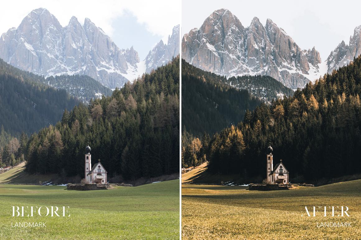 Landmark - Joshua Fuller Lightroom Presets Vol. 4 - Dolomites - FilterGrade
