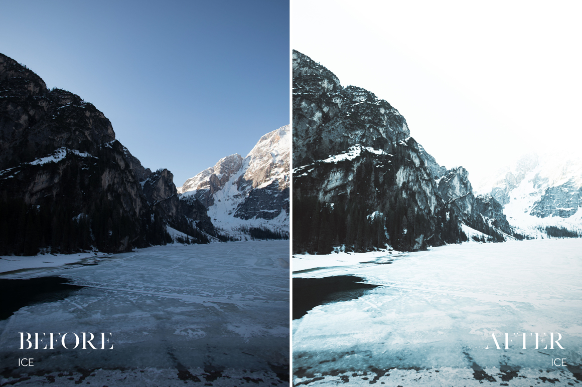 Ice - Joshua Fuller Lightroom Presets Vol. 4 - Dolomites - FilterGrade