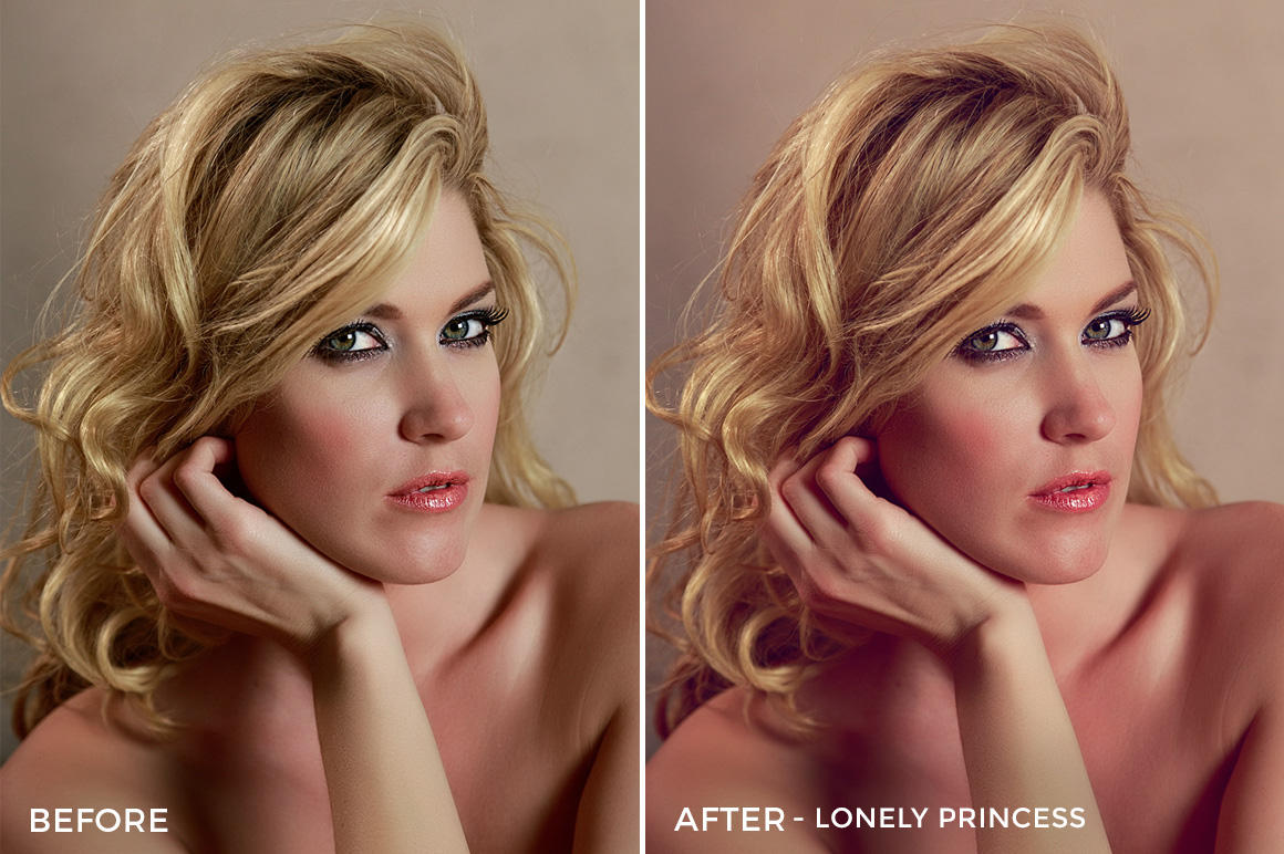 Lonely Princess - Russell Cardwell Vivid 01 LUTs - FilterGrade