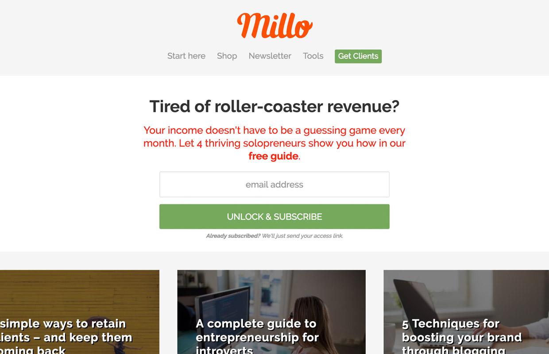 millo blog for freelancers
