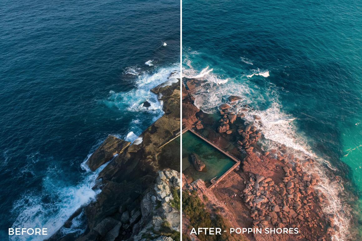 Poppin Shores - Joshua Britton Lightroom Presets - FilterGrade