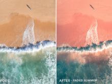Faded Summer - Joshua Britton Lightroom Presets - FilterGrade
