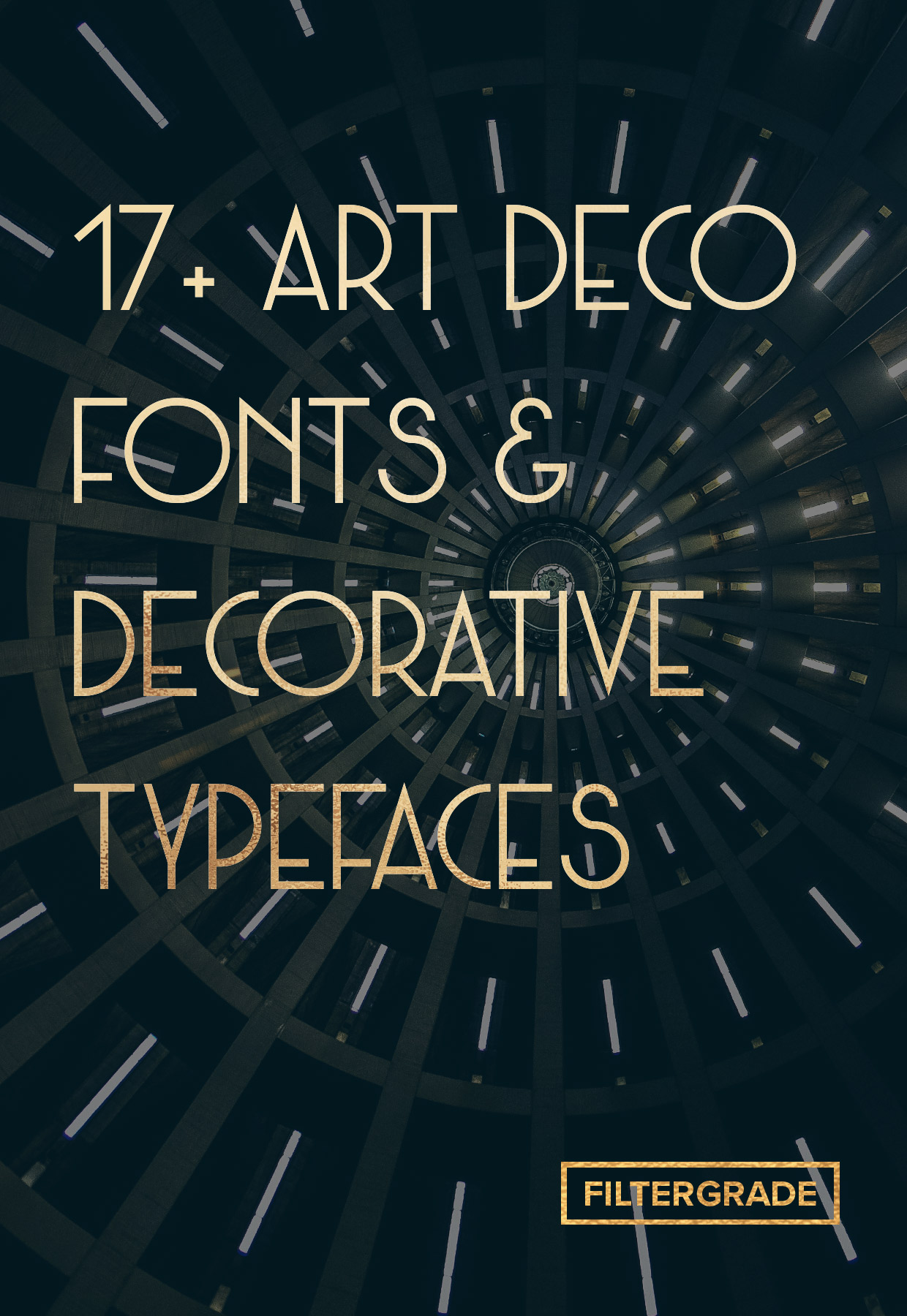 Discover 17+ beautiful art deco fonts and decorative typefaces to try.