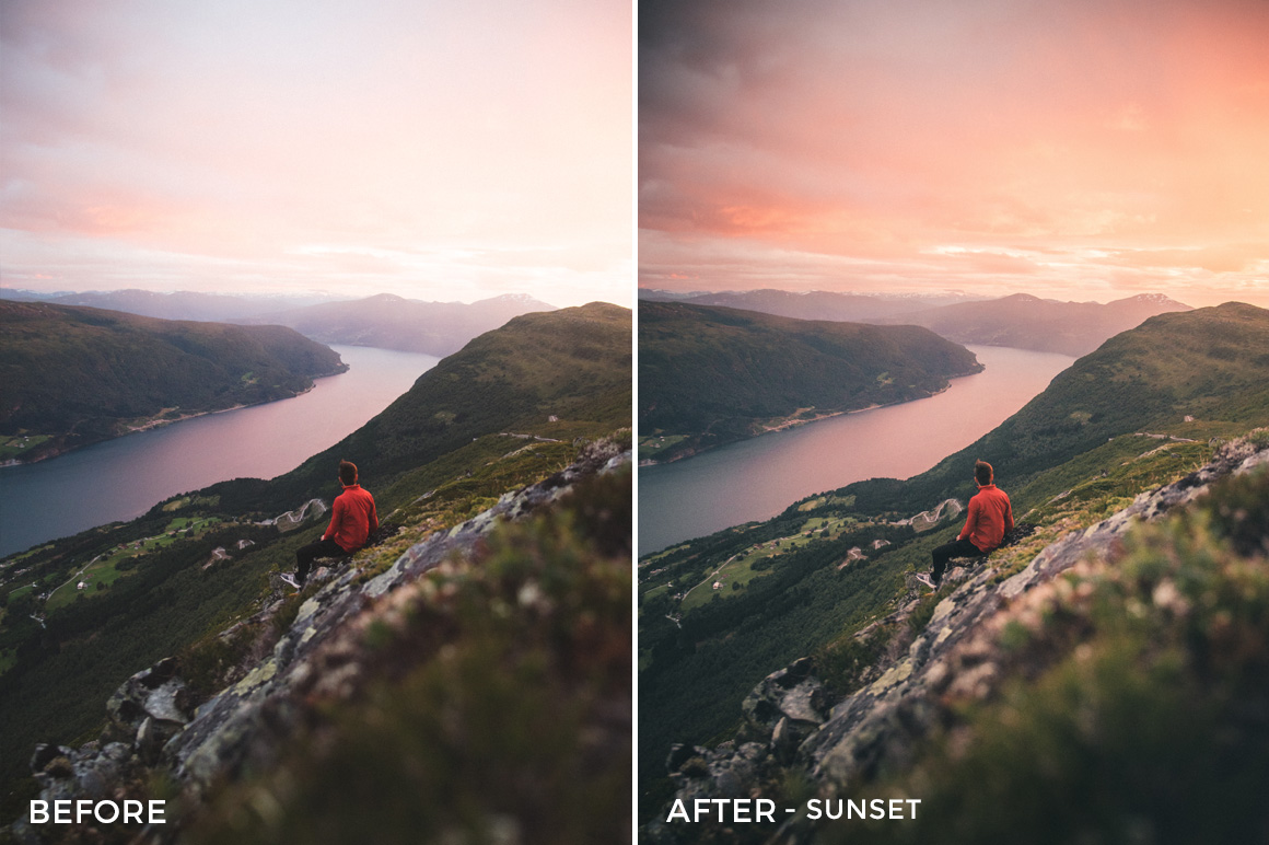Sunset - Twin the World Lightroom Presets Vol. 2 - FilterGrade
