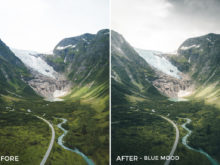 Blue Mood - Twin the World Lightroom Presets Vol. 2 - FilterGrade