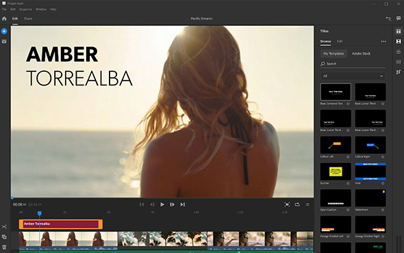 Adobe Introduces Project Rush, a New Cross-Platform Video ...