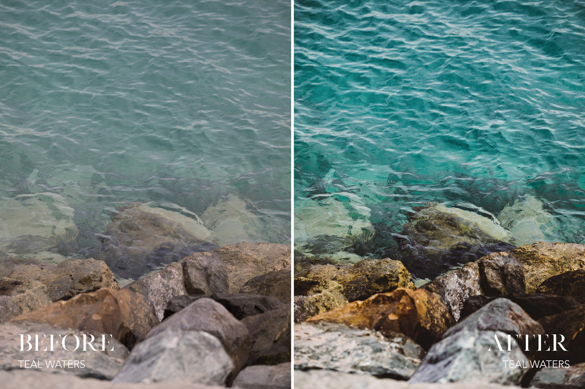 Teal Waters - Joshua Fuller Lightroom Presets Vol. 5 Dubai - FilterGrade