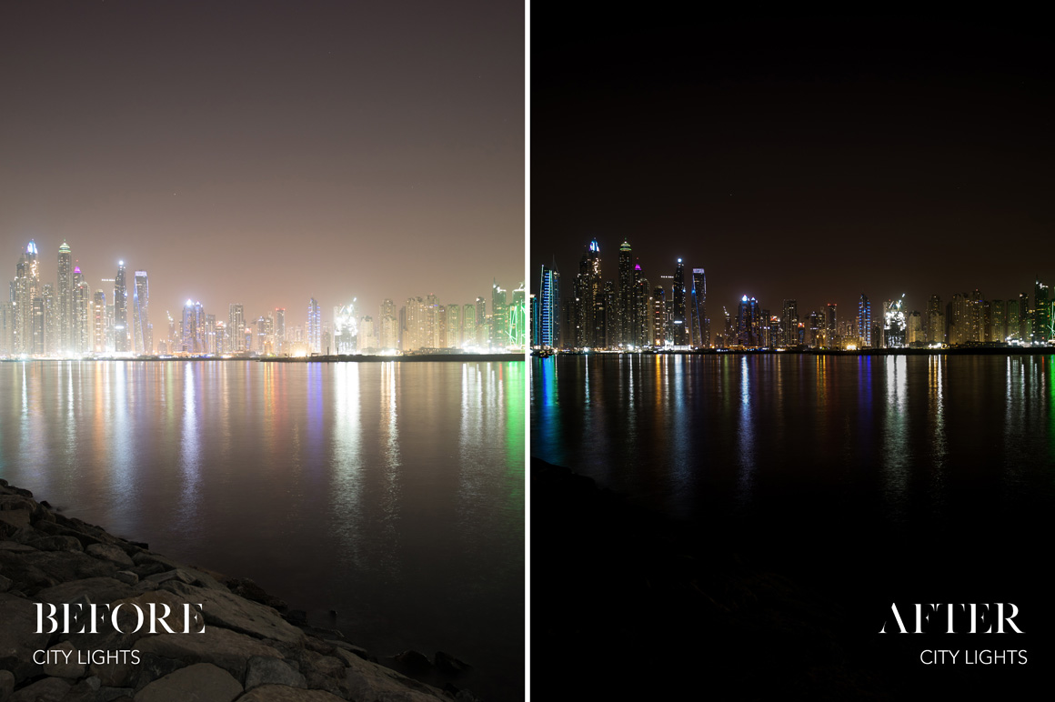 City Lights - Joshua Fuller Lightroom Presets Vol. 5 Dubai - FilterGrade