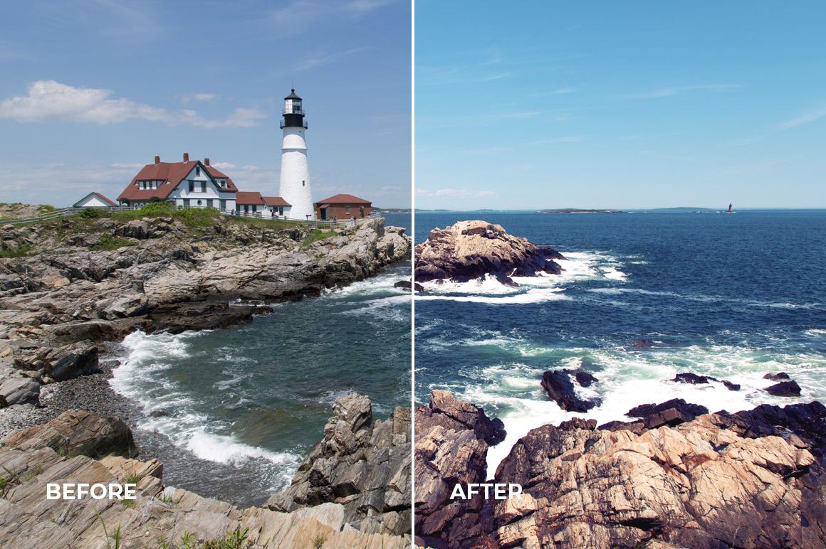 seaside photography lightroom profiles