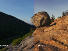 sunset creative profiles for lightroom and adobe camera raw