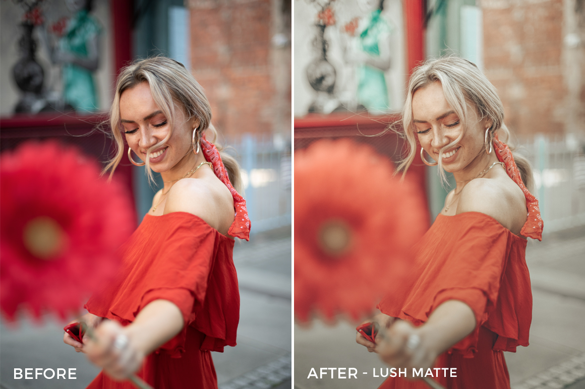 Lush Matte - Jessica Luxe Lightroom Presets - FilterGrade
