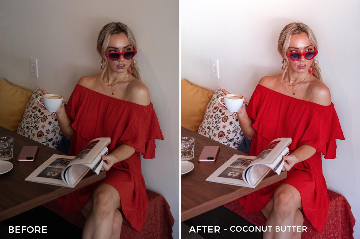Coconut Butter - Jessica Luxe Lightroom Presets - FilterGrade