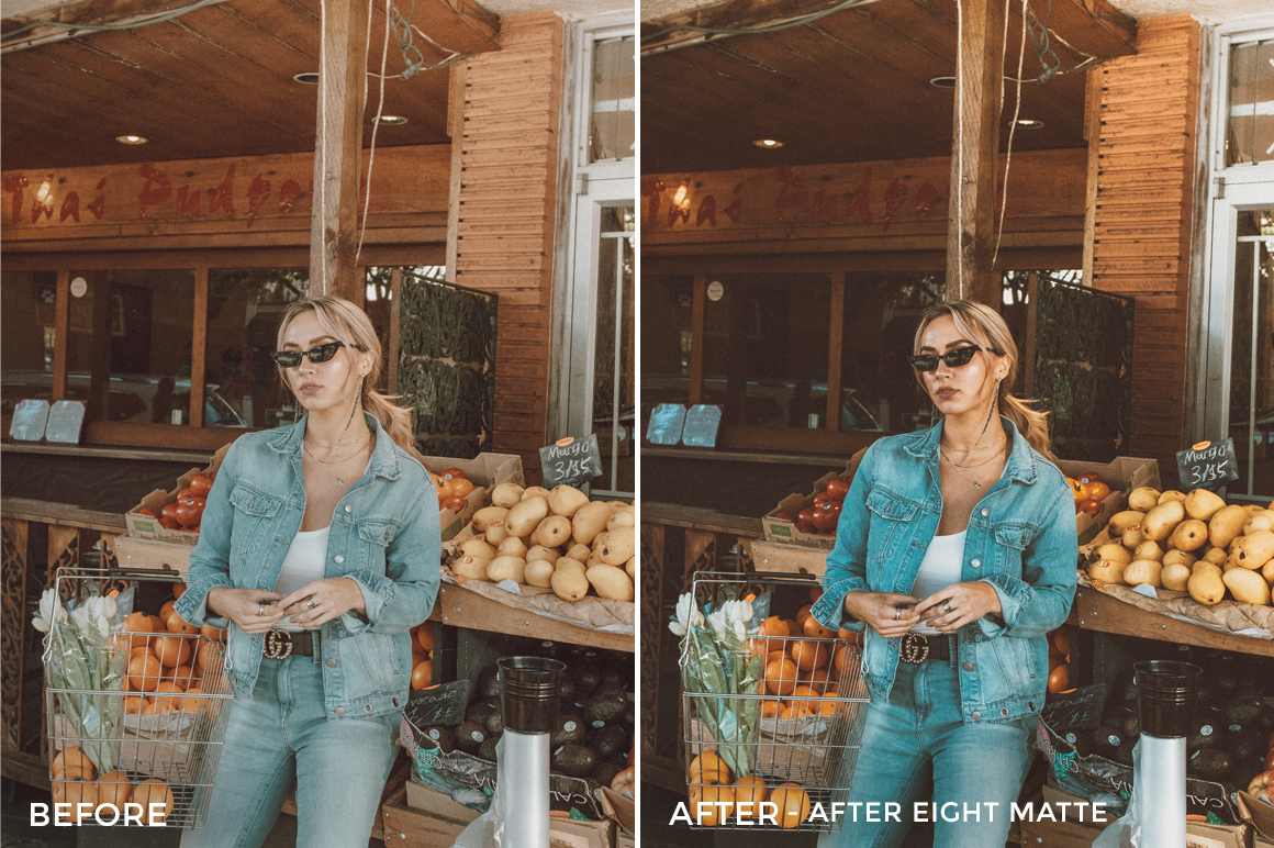 After Eight Matte - Jessica Luxe Lightroom Presets - FilterGrade