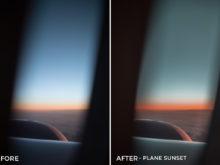 Plane Sunset - Alex Tritz Lightroom Presets Vol. 4 (CANADA PACK) - FilterGrade
