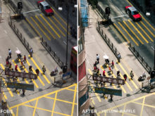 Yellow Waffle - Dmitry Kirzhaev Hong Kong Lightroom Presets - FilterGrade