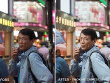 Smoking Chinese - Dmitry Kirzhaev Hong Kong Lightroom Presets - FilterGrade