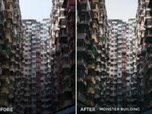 Monster Building - Dmitry Kirzhaev Hong Kong Lightroom Presets - FilterGrade