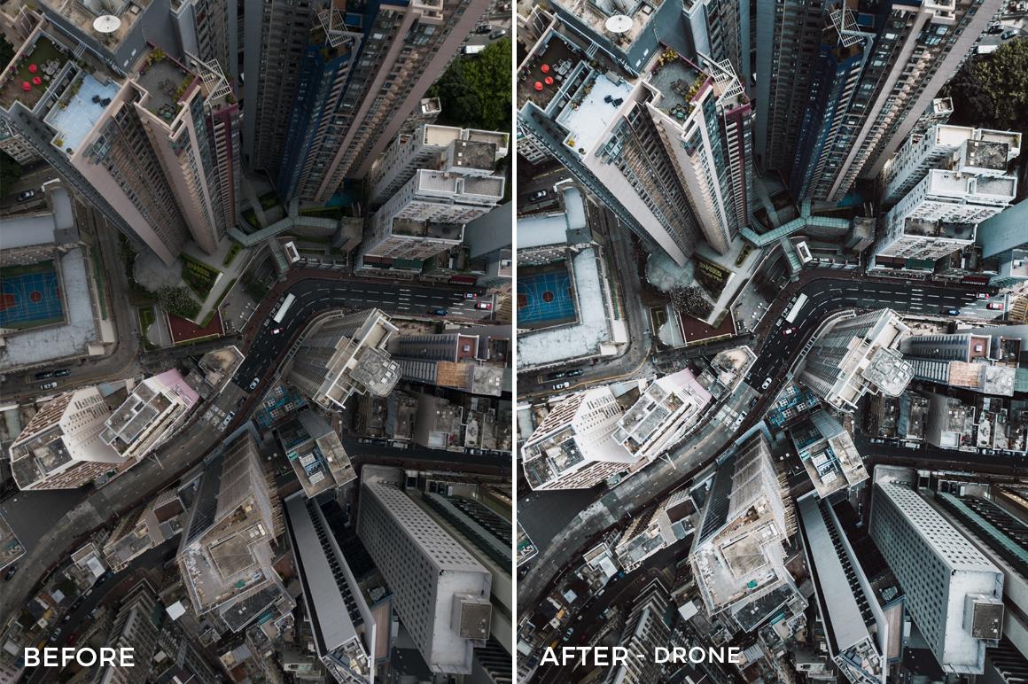 Drone - Dmitry Kirzhaev Hong Kong Lightroom Presets - FilterGrade
