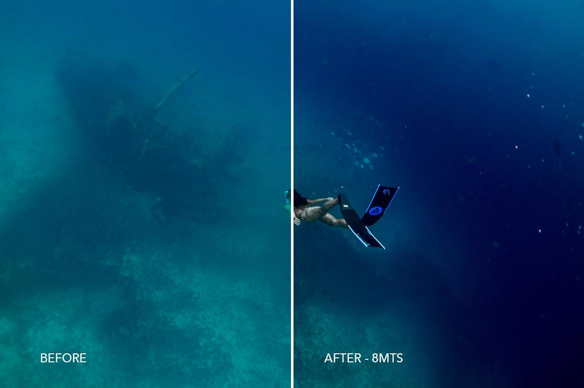 8MTS underwater lr preset