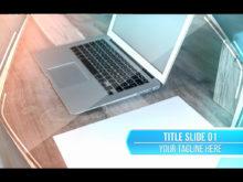 clean slideshow template