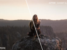 Sunset Glow - Rocky Pines Summer Lightroom Presets - FilterGrade