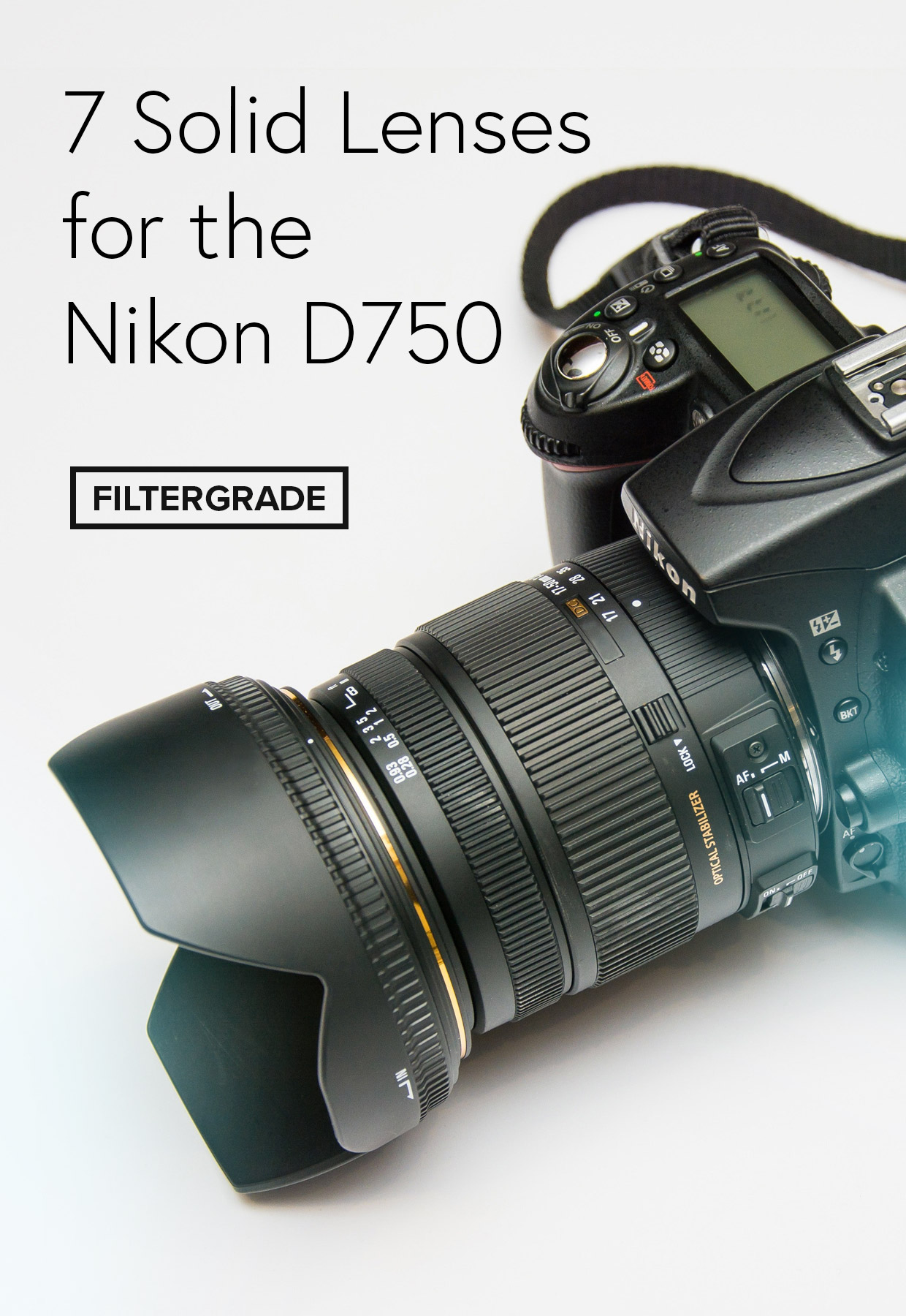 Solid Full Frame Lenses for the Nikon D750