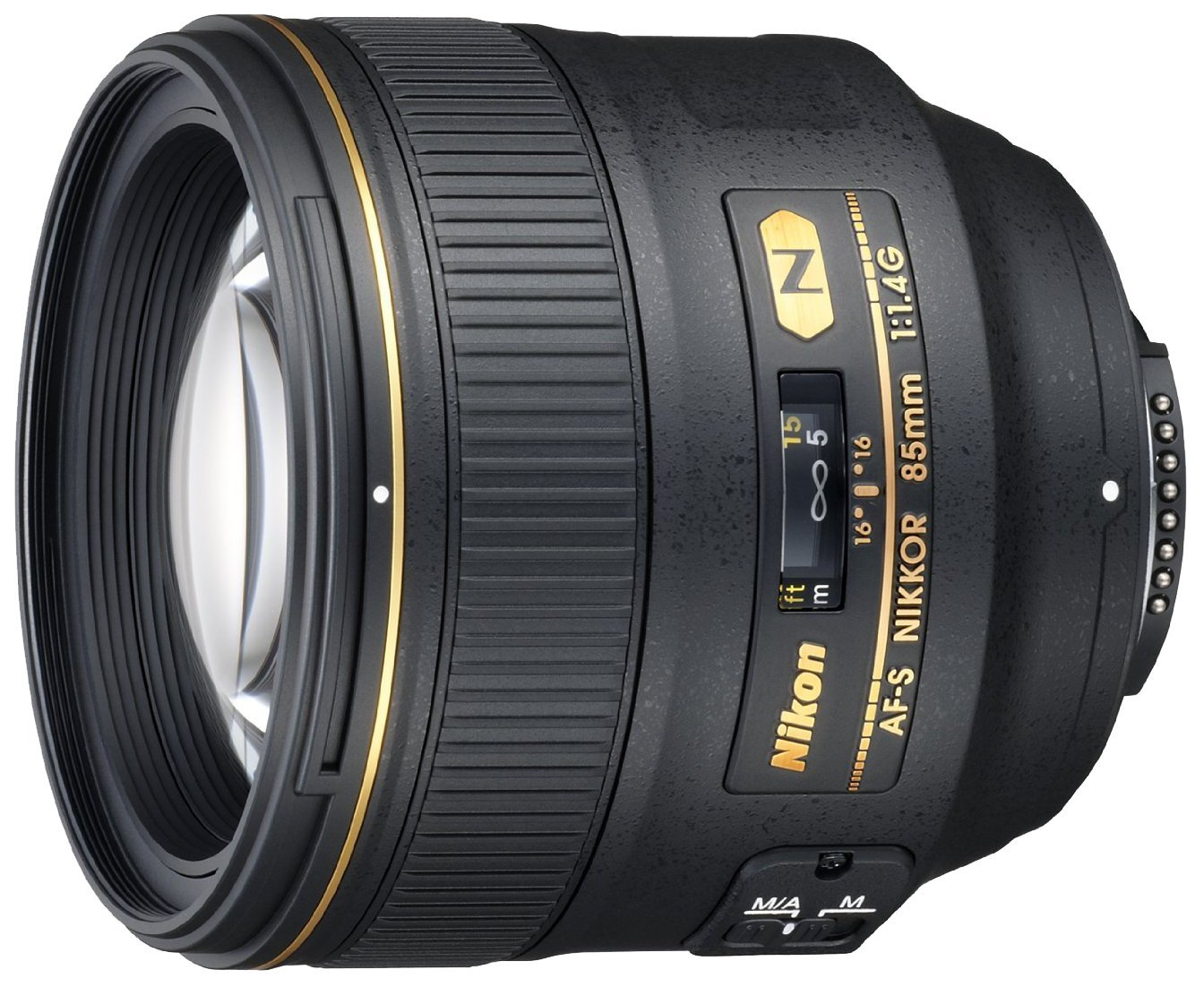 NIKKOR 85mm f/1.4G Lens with Auto Focus for Nikon DSLR Cameras
