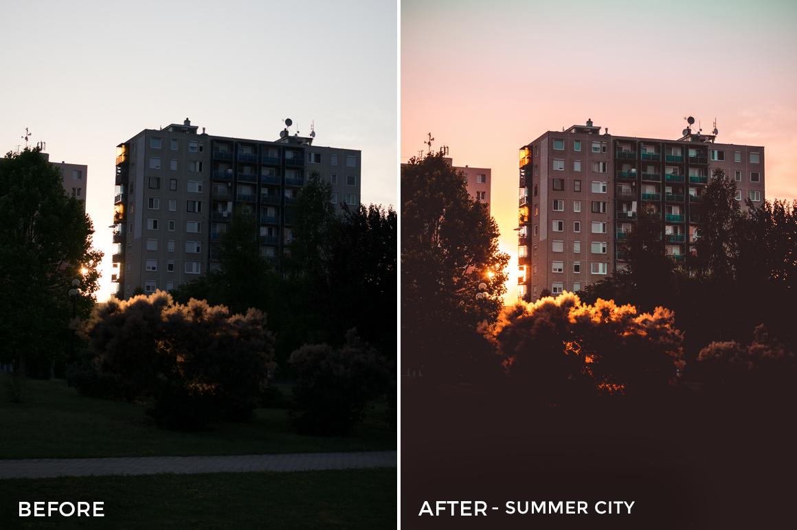 Summer City - Viktor Szabo Summer Feels Lightroom Presets - FilterGrade