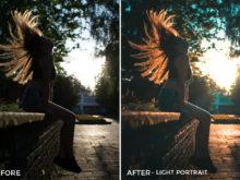 Light Portrait - Viktor Szabo Summer Feels Lightroom Presets - FilterGrade