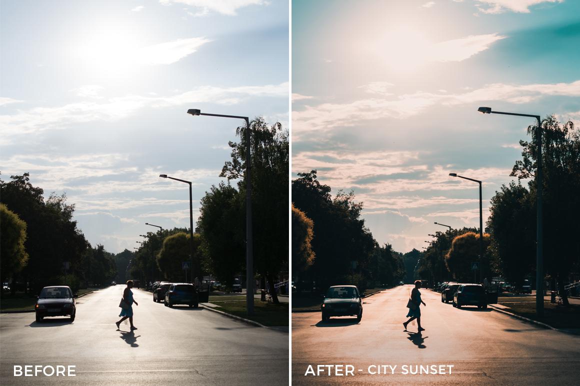 City Sunset - Viktor Szabo Summer Feels Lightroom Presets - FilterGrade