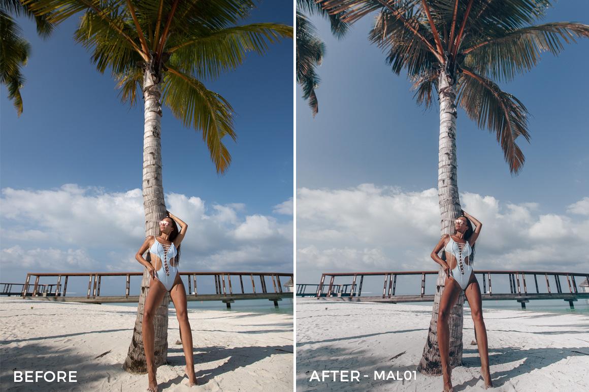 MAL01 - Maldives Lightroom Presets by Sergey Kabankov Anyuta Rai - FilterGrade