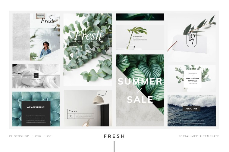 Free Social Media Templates and Mockups for Photoshop - FilterGrade