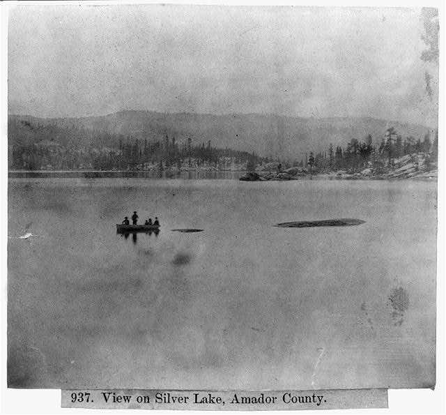 View on Silver Lake - Lawrence & Houseworth - What is an Albumen Print?