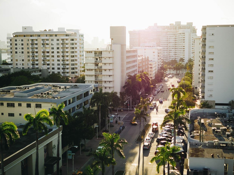 miami cityscape