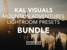 Kal Visuals Mountain Adventures Lightroom Presets Bundle