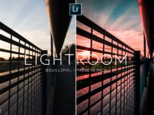 @guillepixl mobile and pc lightroom presets bundle