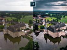 moody landscape photo edit