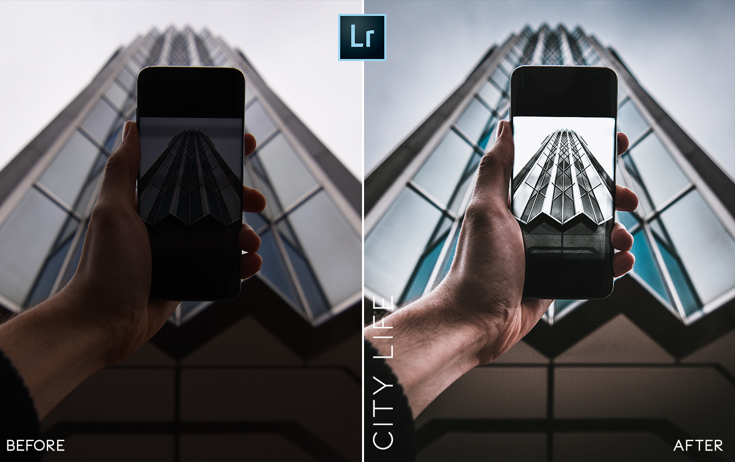 urban and street mobile lightroom presets