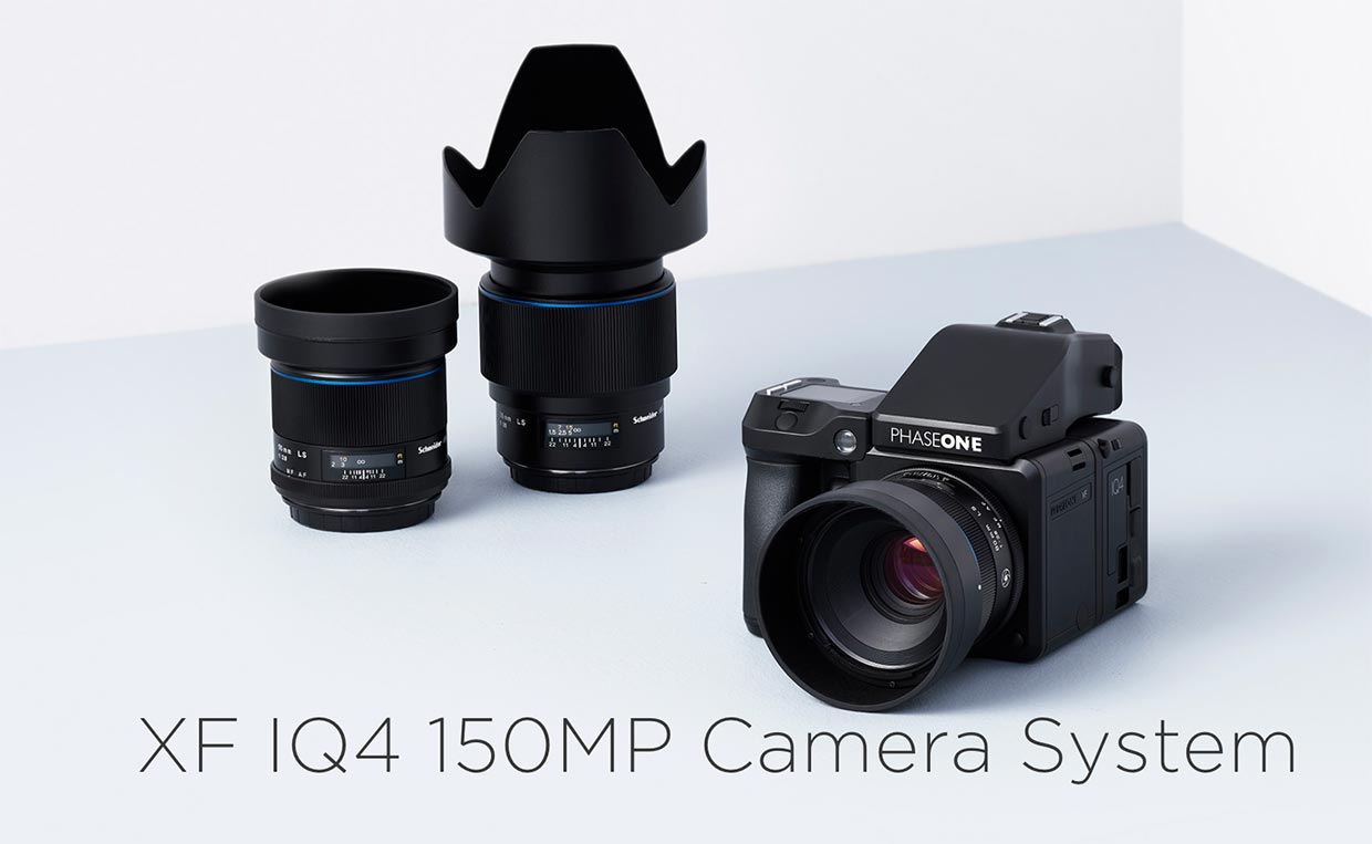 Phase One's New $50,000+ XF IQ4 150MP Camera System