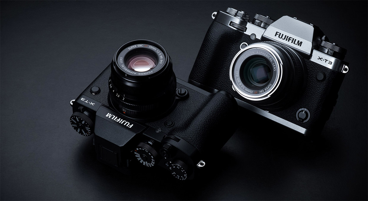 fujifilm x-t3 product photos