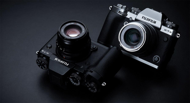 fujifilm x-t3 product photos