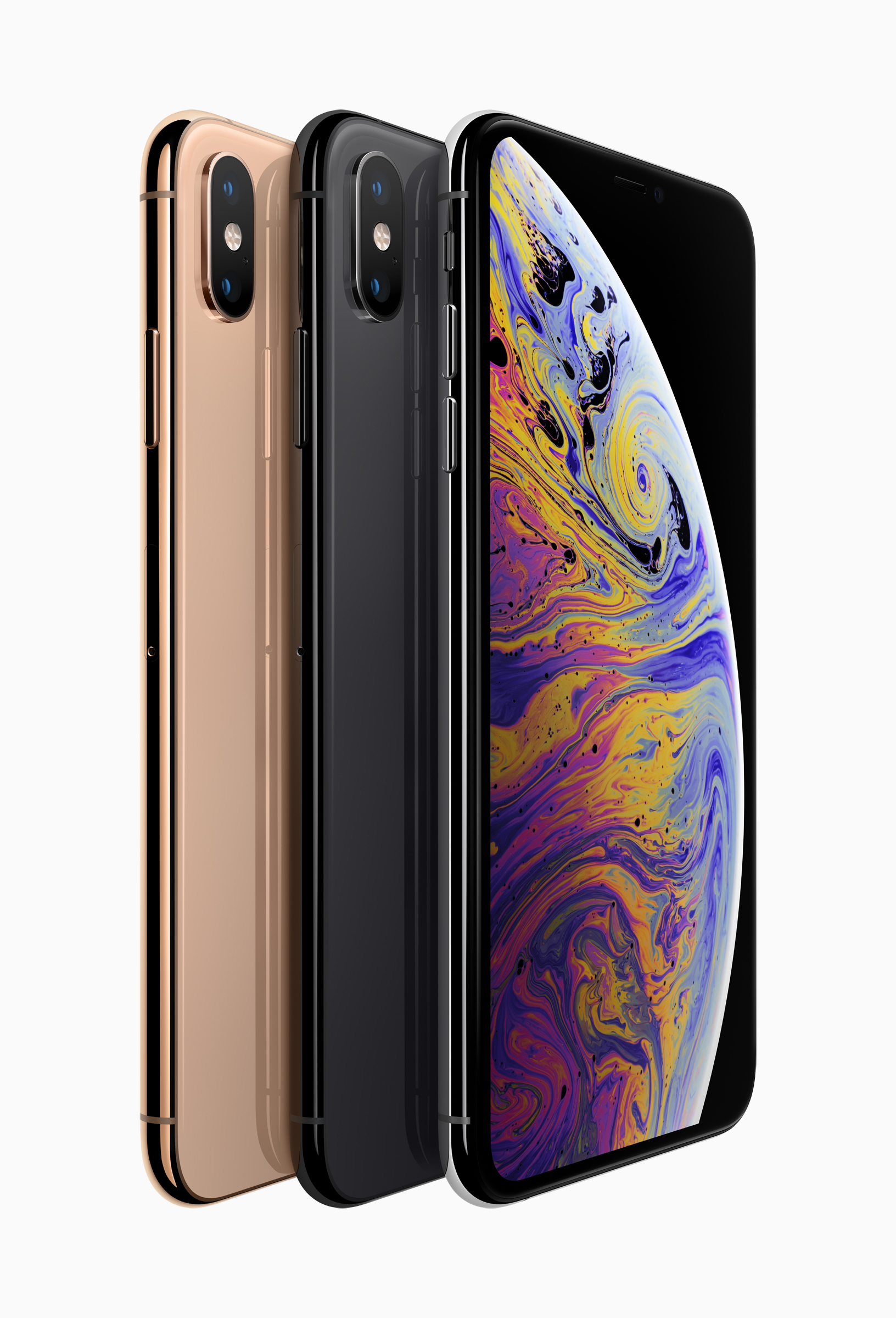 Apple iPhone Xs and iPhone Xs Max new