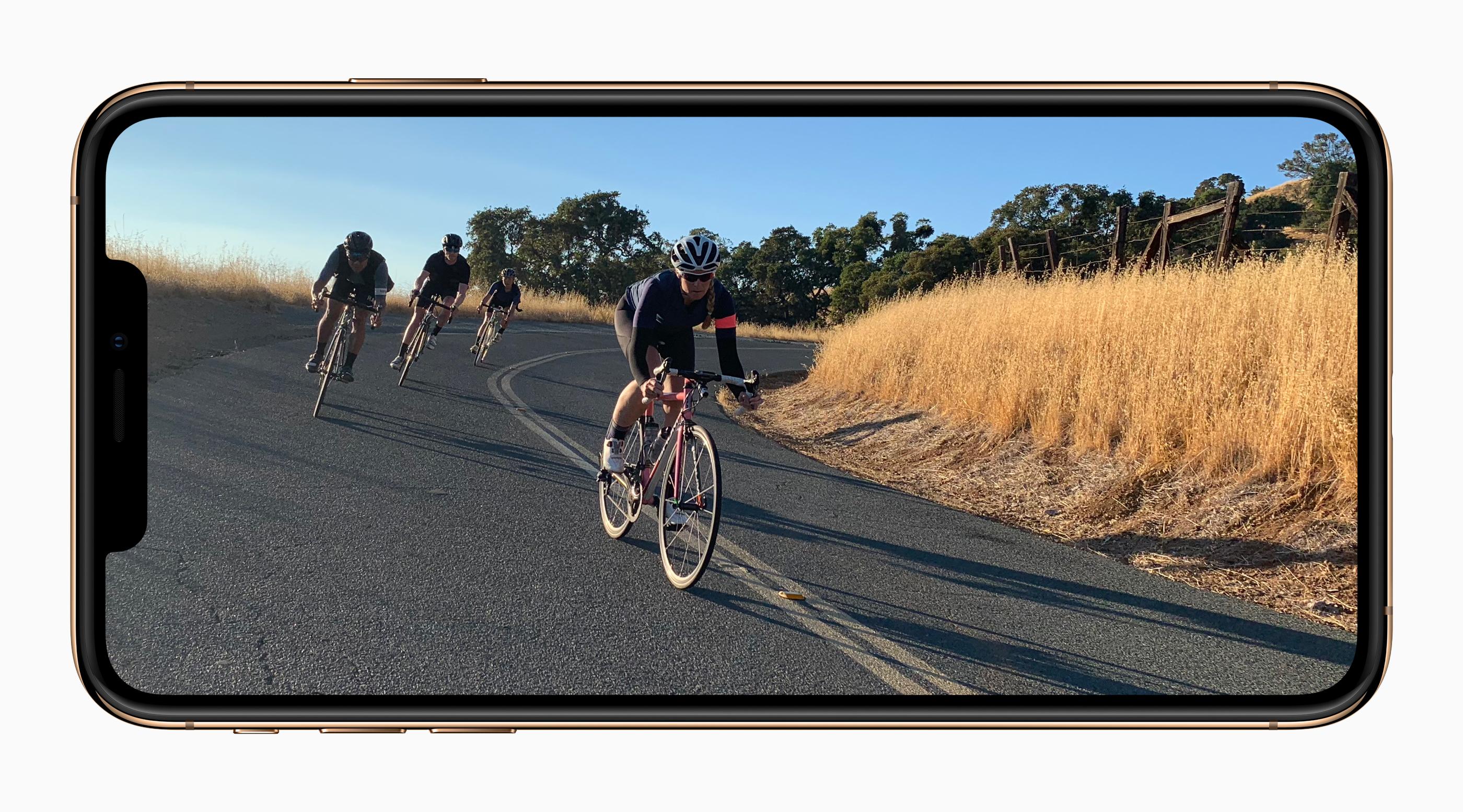 apple iphone Xs gold video capture screen