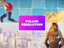 full hd slideshow ae template