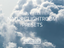 Custom nature lightroom presets from landscape and outdoor photographer Adrian Pelletier.